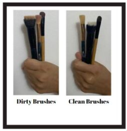 Clean Your Brushes 1